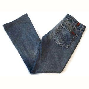 7 For All Mankind Boot Cut Jeans A Pocket 7FAM